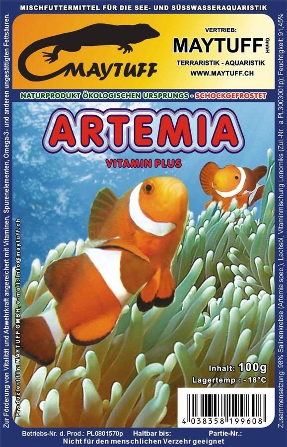 Blister Artemia (Salinenekrebse) 100 g