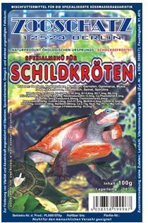 Blister Schildkrötenfutter 100 g