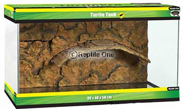 Wasserschildkrötenbecken 120 x 48 x 50 cm