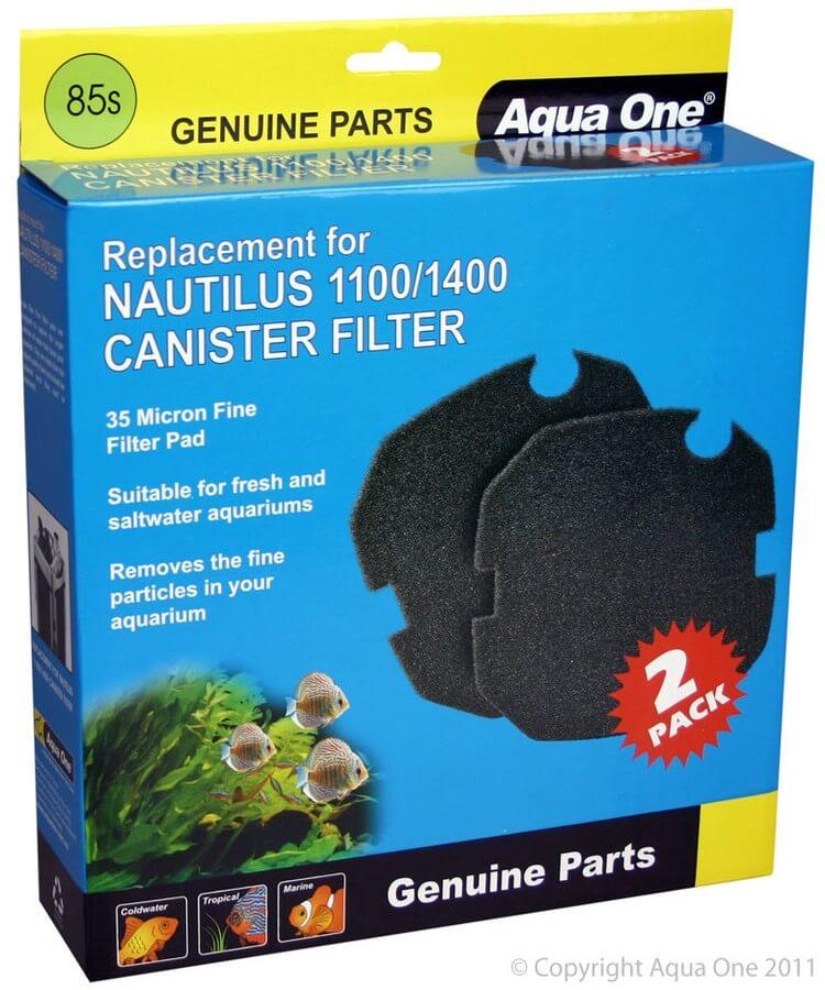 MPS Filterschwamm Schwarz, Filter Nautilus 1100/1400