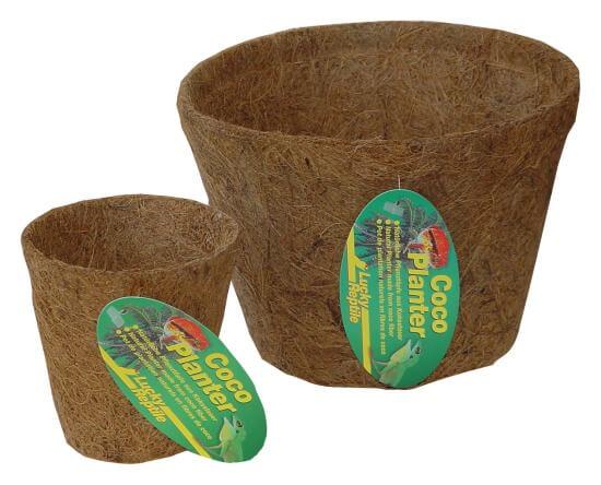 Kokosfaser Pflanztopf