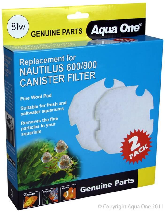 MPS Filterwatte für Filter Nautilus 600 / 800