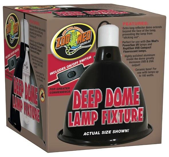 Deep Dome Lampenfassung