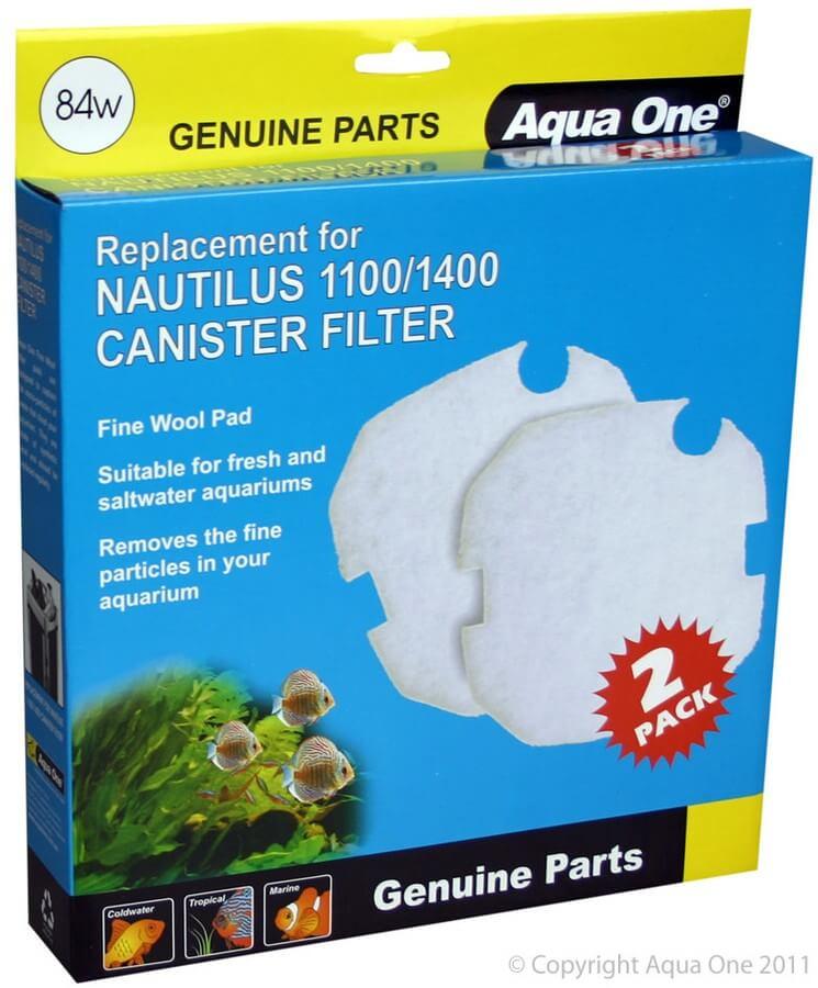 MPS Filterwatte für Filter Nautilus 1100/1400