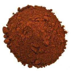 Sand Bedding Rot mit Lehm