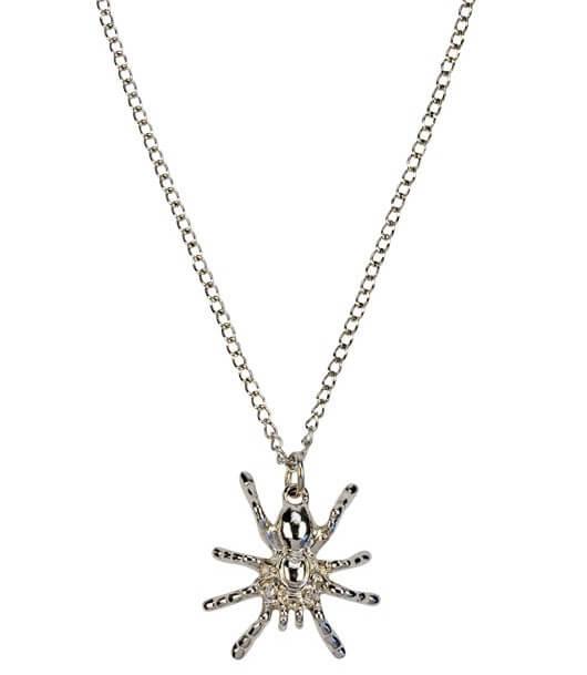 Halskette Spinne