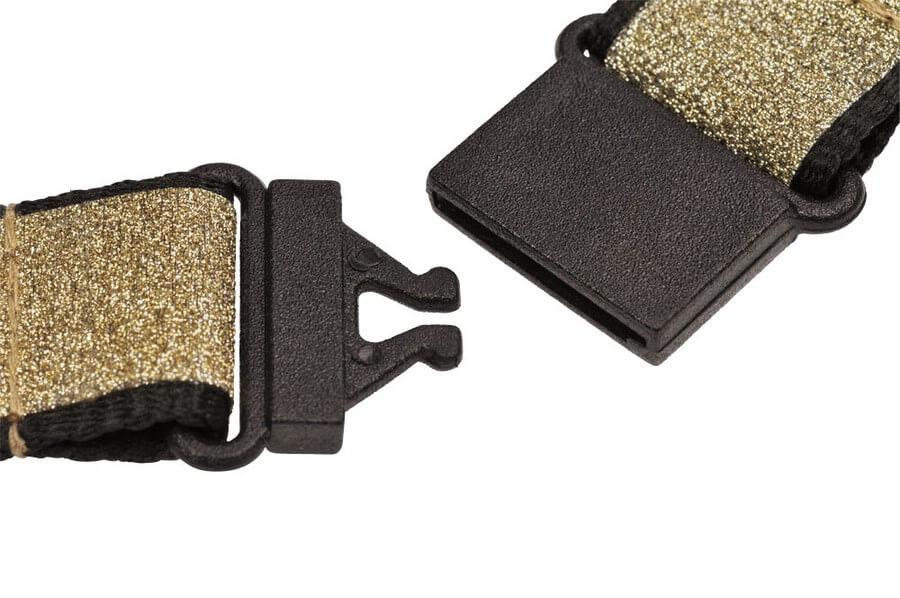 Schlüsselband Pferd Glitzer, gold