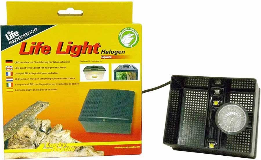 Life Light Halogen eckig