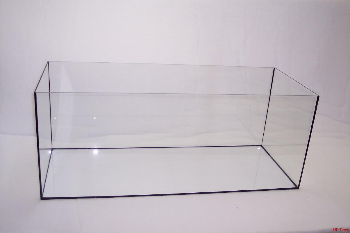 Glasbecken 120 x 50 x 30 cm / 6 mm