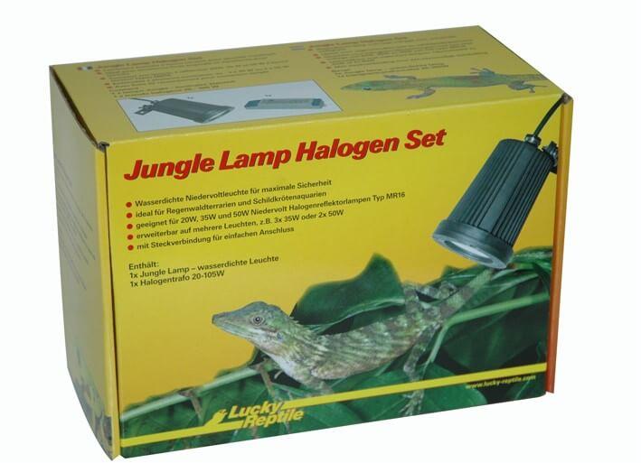 Jungle Lamp Halogen Set