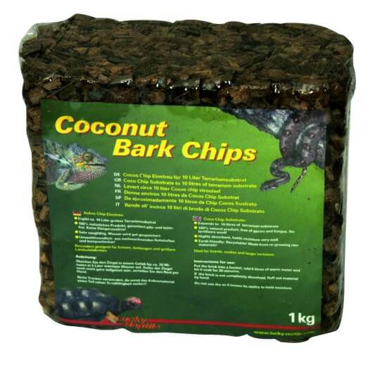 Coconut Bark Chips
