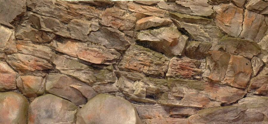 Aquarien - Rückwand aus GFK, Felsen