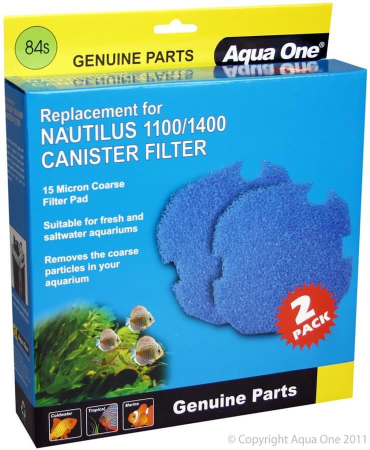 MPS Filterschwam Blau, für Filter Nautilus 1100 / 1400