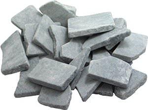 Schieferplättchen Anticos grau