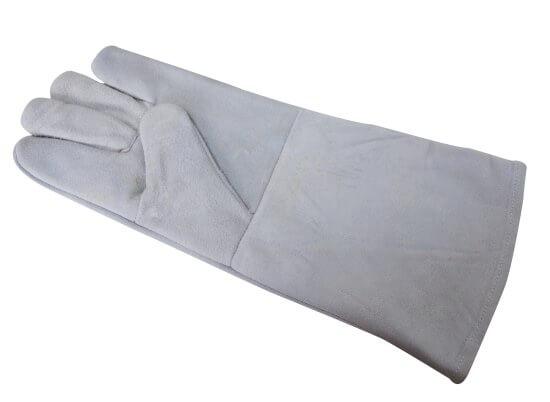 Leder Schutzhandschuh