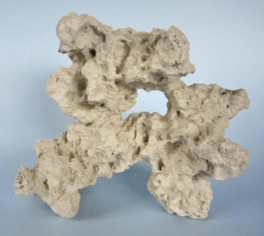 Sansibar-Rock Polyresin, weiss, Large 2