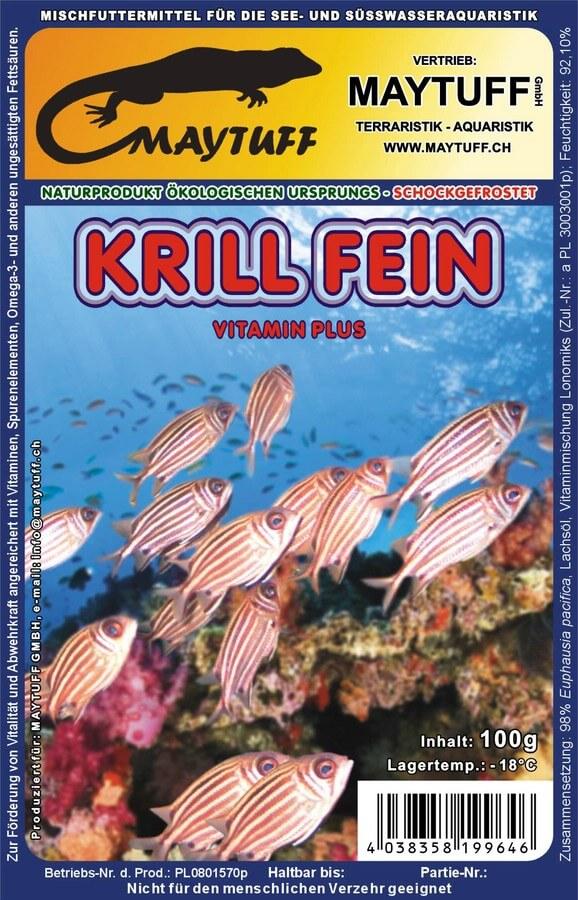 Blister Krill fein 100 g