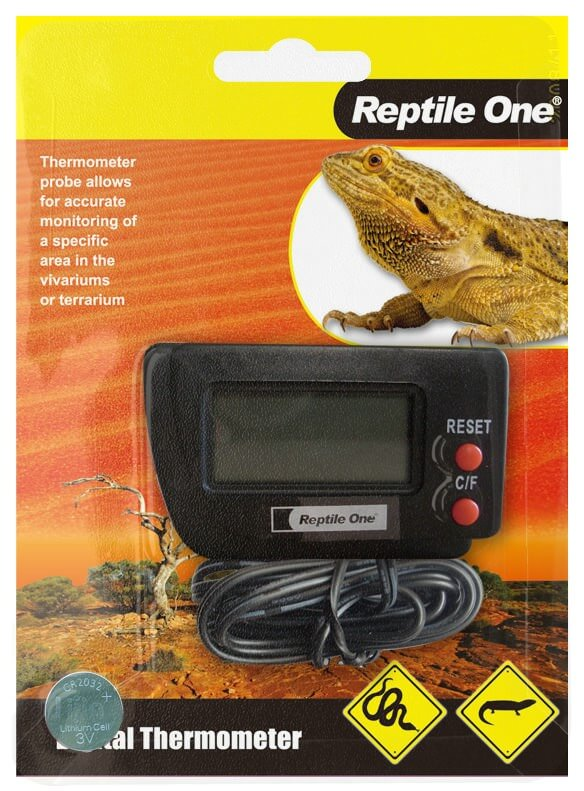 MPS Thermometer Reptile LCD
