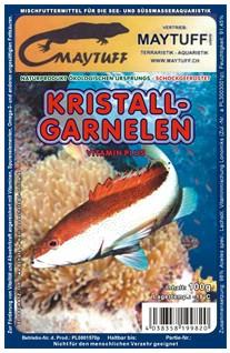 Blister Kristall-Garnelen 100 g