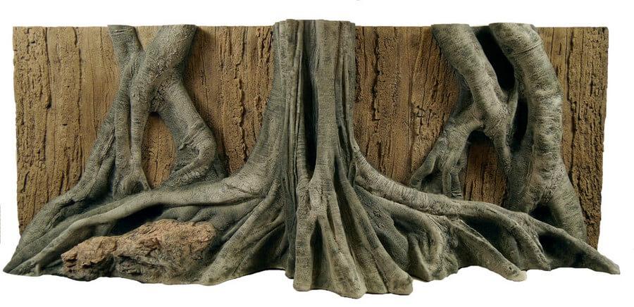 PU Rückwand Mangrove