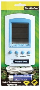 MPS Thermometer/Hygrometer Reptile LCD